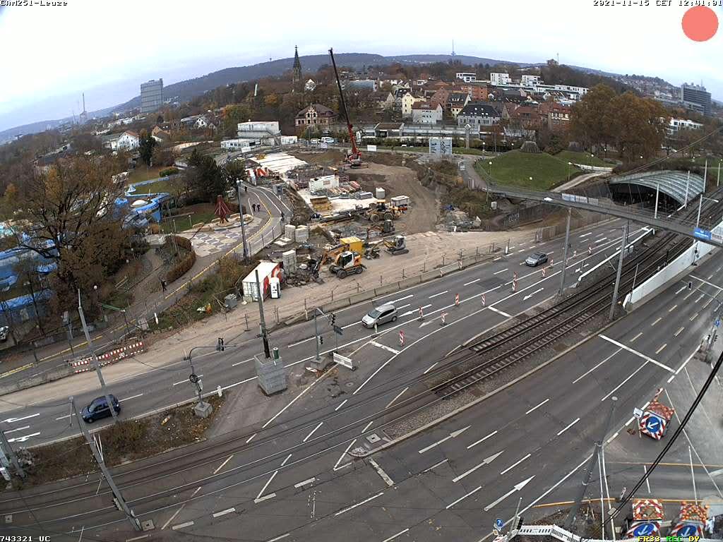 Straßenbauprojekt Rosensteintunnel: B10/B14 Verbindung am Leuze
